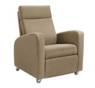 Lifting medical sleeper chair / reclining / on casters / electric BENSON3 Teal