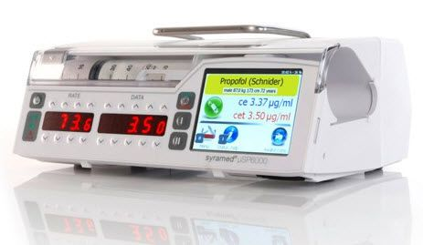Volumetric infusion pump / multi-function / 1 channel µVP7000 Chroma Arcomed AG, Medical Systems
