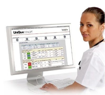 Patient data management system / infusion UniQueCONCEPT™ Arcomed AG, Medical Systems