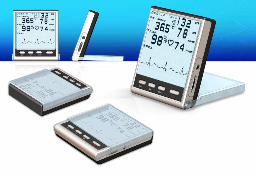 Portable multi-parameter monitor / ambulatory 400 Valeo Corporation
