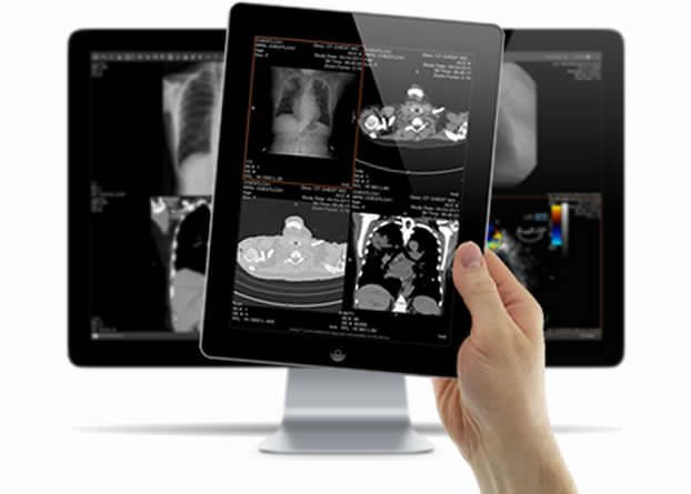Sharing web application / viewing / medical imaging Client Outlook, Inc.
