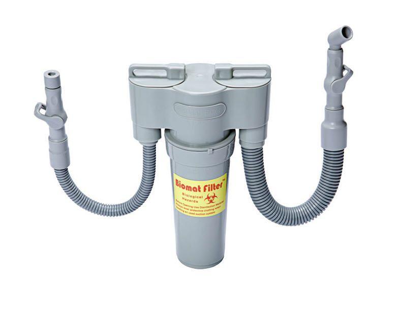 Vacuum filtration system / for dental units BioMat Filter ETI Dental Industries