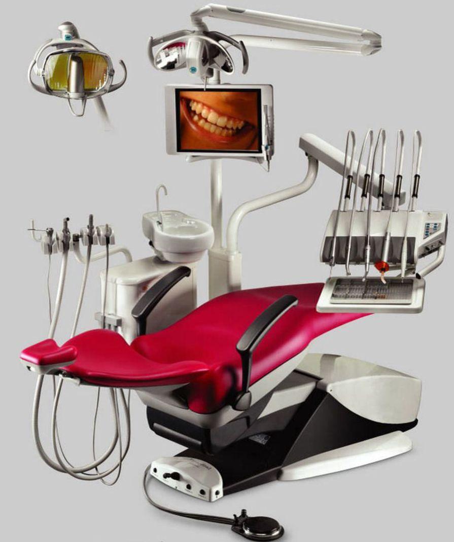 Dental treatment unit with electro-mechanical chair 2014 ETI Dental Industries