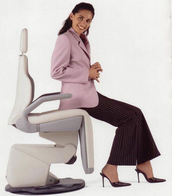 Electromechanical dental chair LINDA ETI Dental Industries