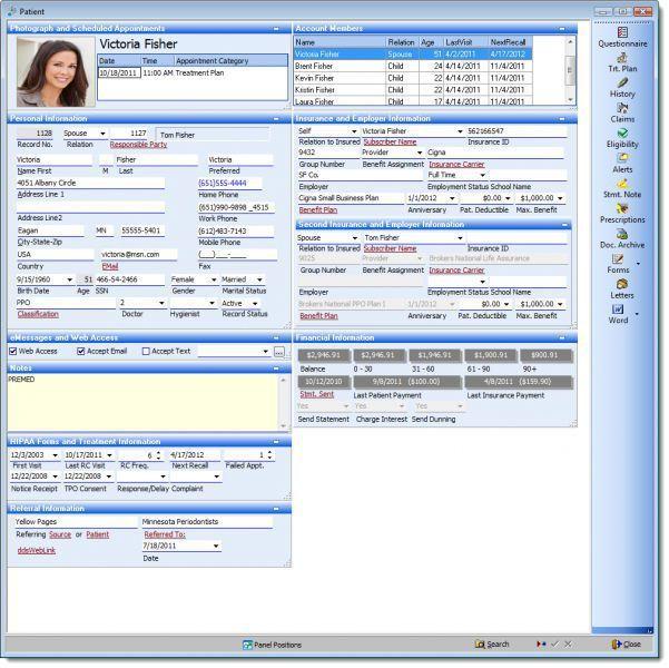 Management software / medical / dentist office XLDENT XLDent