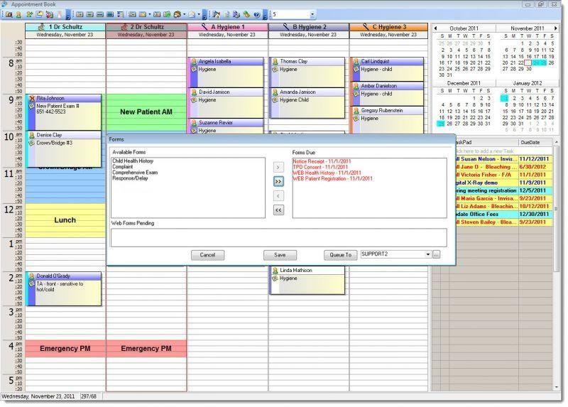 Management software / medical / dentist office XLCHECKIN XLDent