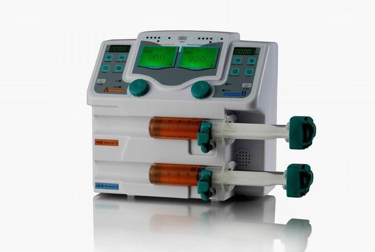 2-channel syringe pump 1500 mL/h | BYZ-810T Changsha beyond medical device