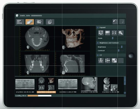 Viewing software / diagnostic / data management / for dental imaging i-Dixel Web Morita