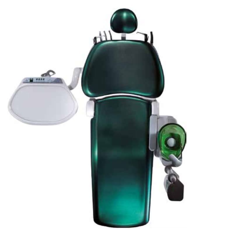 Dental treatment unit with hydraulic chair Spaceline EMCIA Morita