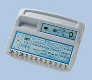 Pressure therapy unit (physiotherapy) / 12 independent cells GREEN PRESS 12 Iskra Medical