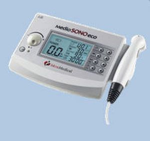 Ultrasound diathermy unit (physiotherapy) / 1-channel MEDIO SONO ECO / MEDIO SONO 2 ECO - 1/3 MHz Iskra Medical