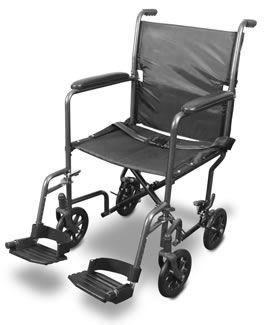 Folding patient transfer chair Airgo® Steel Airgo