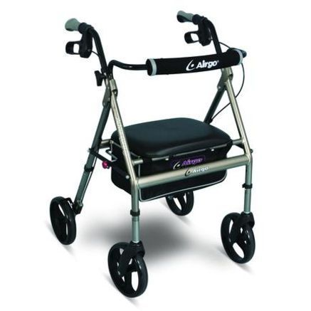 4-caster rollator / height-adjustable / with seat Airgo® Adventure™ 8 Airgo