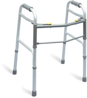 Height-adjustable walker / folding Airgo