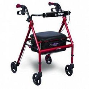 4-caster rollator / with seat / height-adjustable Airgo® Adventure™ 6 Airgo