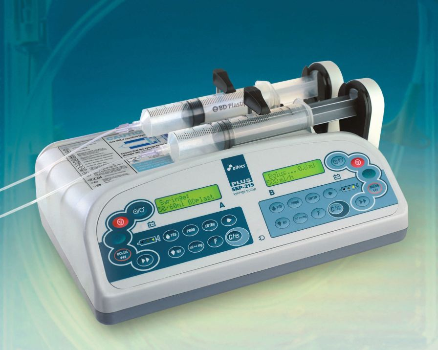 2-channel syringe pump SEP-21S Plus Viltechmeda