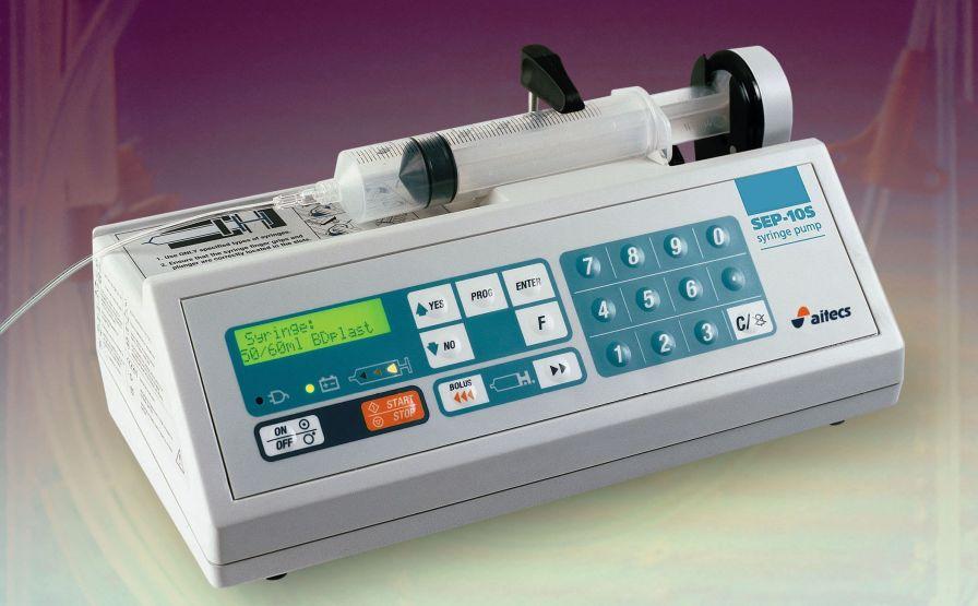 1 channel syringe pump SEP-10S Viltechmeda