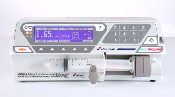 Ambulatory syringe pump / 1 channel Aitecs 2015 Viltechmeda