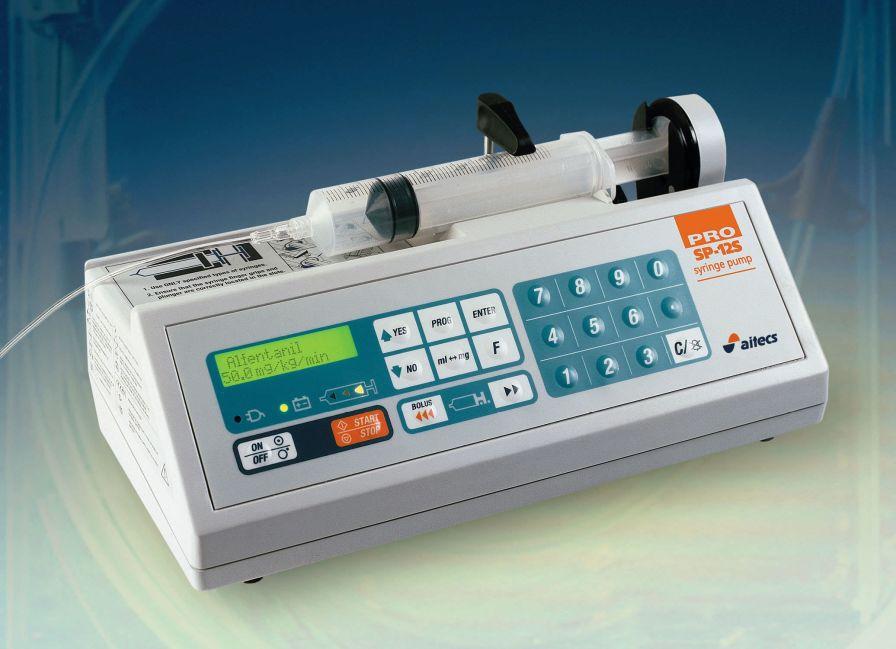 Ambulatory syringe pump / 1 channel SP-12S PRO Viltechmeda