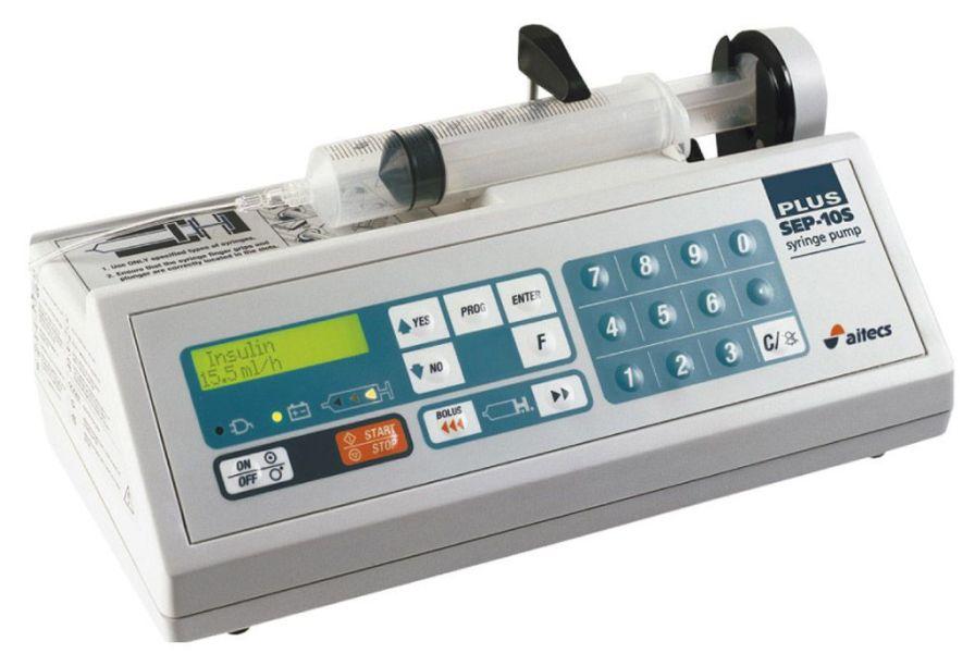 1 channel syringe pump SEP-10S PLUS Viltechmeda