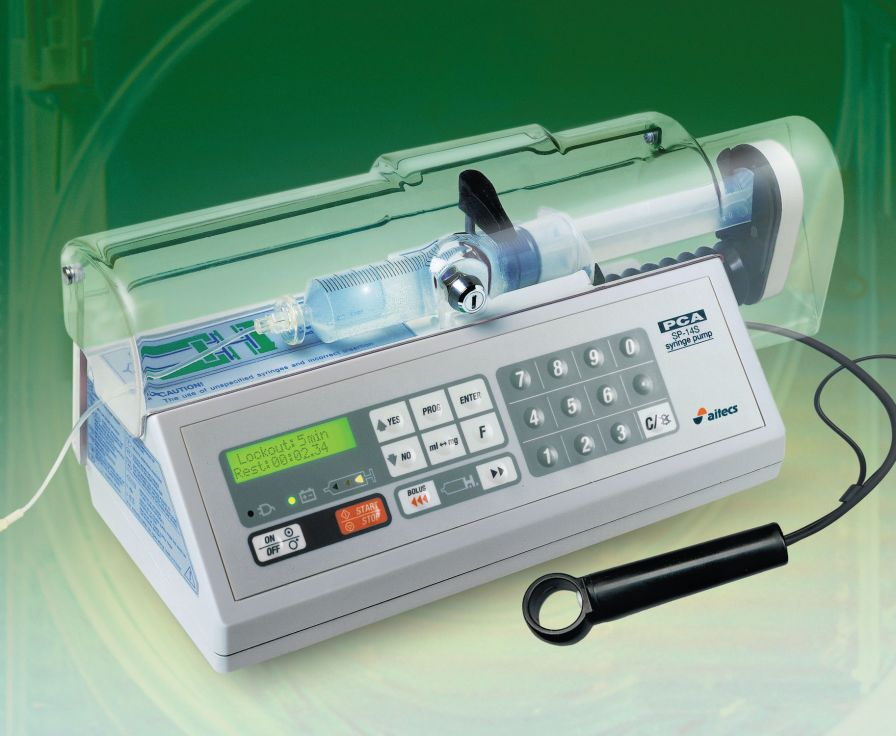 1 channel syringe pump / PCA SP-14S PCA Viltechmeda