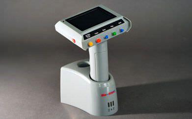 Laryngoscope video endoscope / rigid / with integrated video monitor MS201 Apple BioMedical