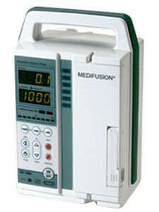 Volumetric infusion pump / 1 channel 0.1 - 999 mL/h | MP1000 DAIWHA