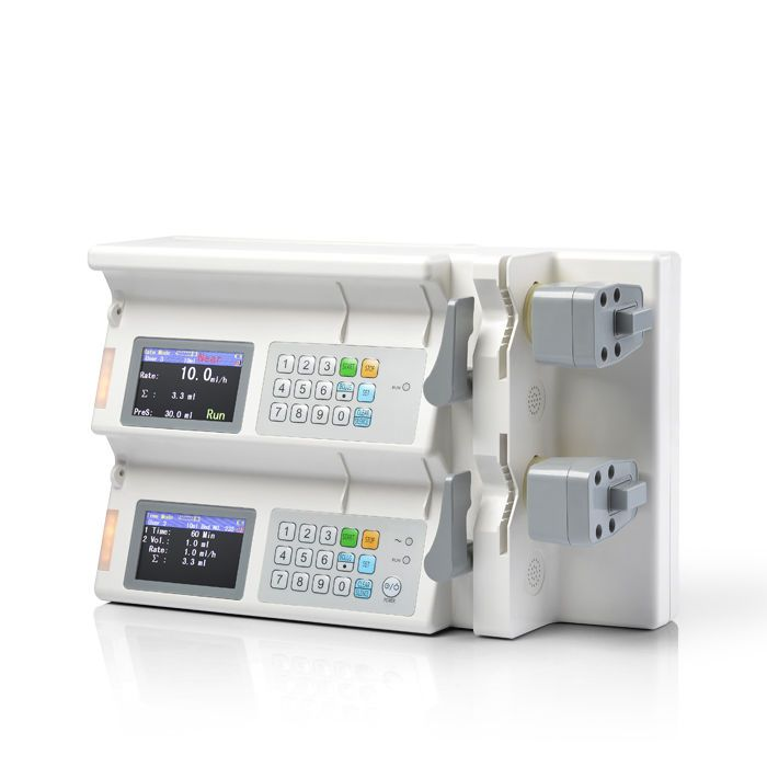 2-channel syringe pump SK-500III Shenke Medical Instrument