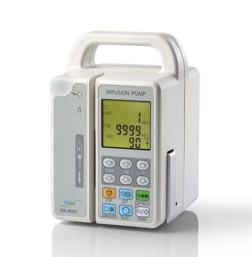 Volumetric infusion pump / 1 channel SK-600I Shenke Medical Instrument