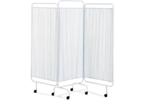 Hospital screen / on casters / 3-panel BI-03 Sorisa