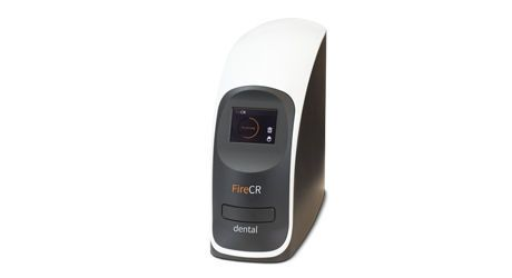 Intra-oral CR screen phosphor screen scanner FireCR 3Disc Imaging