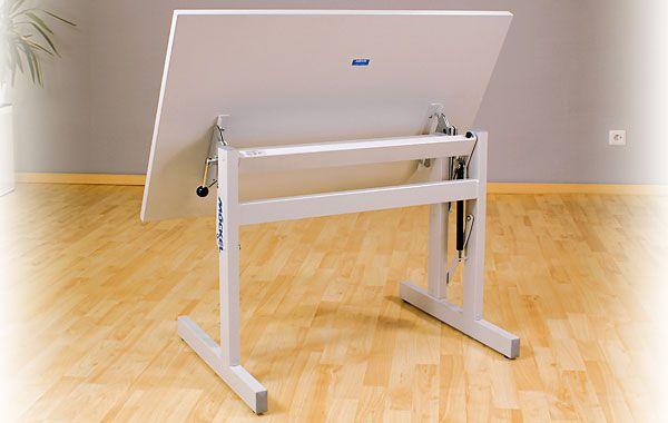 Height-adjustable ergotherapy table ERGO S 72 Möckel Feinmechanik