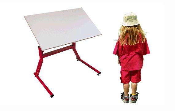 Pediatric ergotherapy table / on casters / height-adjustable SKATER Möckel Feinmechanik