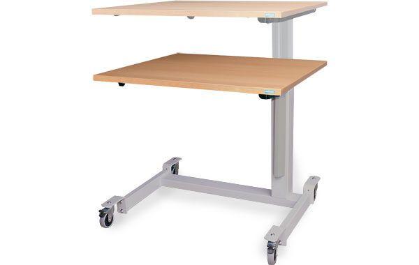 Ergotherapy table / on casters / height-adjustable ERGO EP3 Möckel Feinmechanik