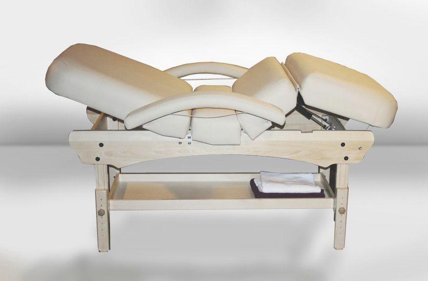 Pneumatic massage table / 4 sections COMFORT KOZMETIK Clap Tzu