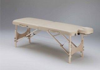 Manual massage table / portable / height-adjustable / folding SMART SET Clap Tzu