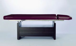 Electric spa table / height-adjustable / 2 sections ANDO AYURVEDA Clap Tzu
