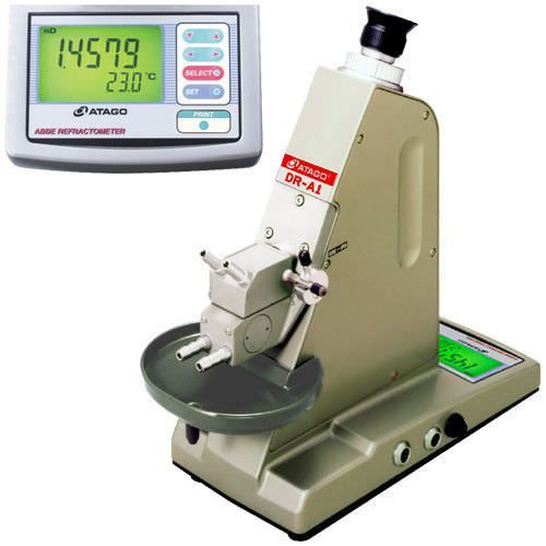 Abbe laboratory refractometer / digital / bench-top DR-A1 Atago