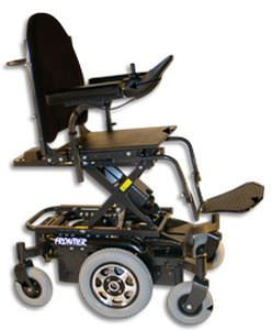 Electric wheelchair / height-adjustable / interior / exterior Frontier X5 Magic Mobility