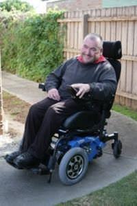 Electric wheelchair / exterior / interior Frontier V6 Magic Mobility