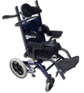 Passive wheelchair / reclining / pediatric / with headrest Eclipse Junior Magic Mobility
