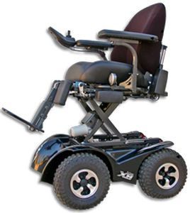 Electric wheelchair / height-adjustable / exterior Extreme X8 Magic Mobility