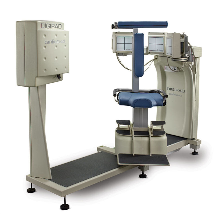 Digirad Cardius® X-ACT / SPECT/FAC Cardiac Gamma Camera with Attenuation Correction