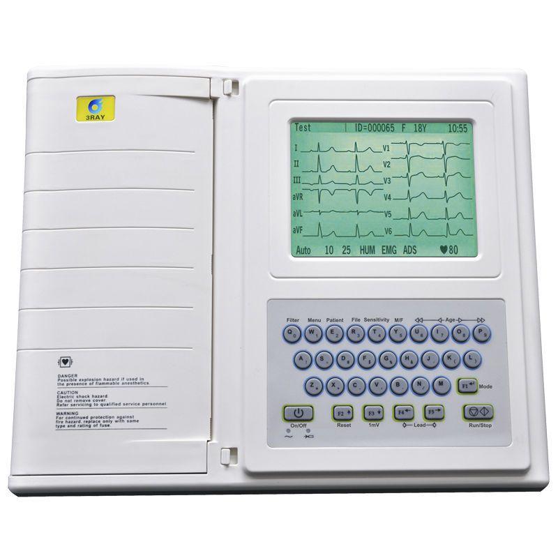 Digital electrocardiograph / 12-channel ECG-2212B Guangzhou 3Ray Electronics Co., Ltd.