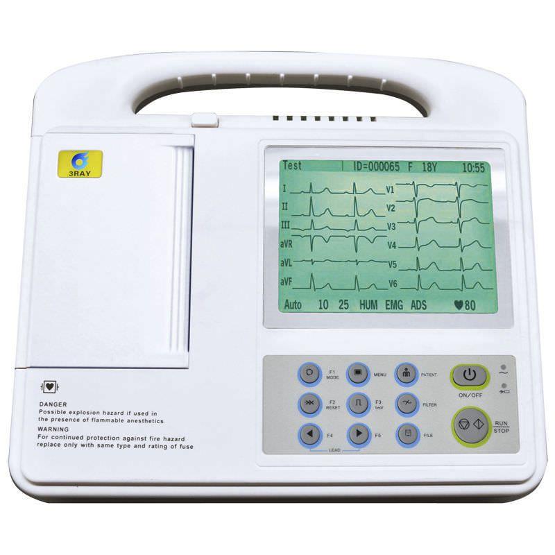 Digital electrocardiograph / 6-channel ECG-2206G Guangzhou 3Ray Electronics Co., Ltd.