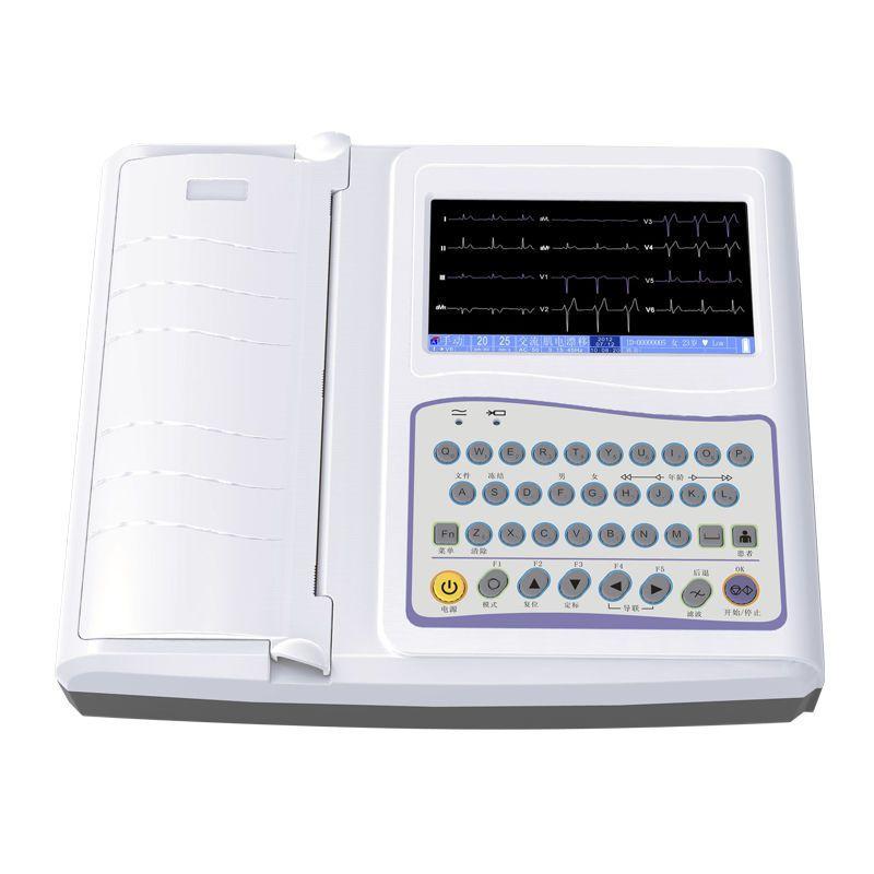 Digital electrocardiograph / 12-channel ECG-3312B Guangzhou 3Ray Electronics Co., Ltd.