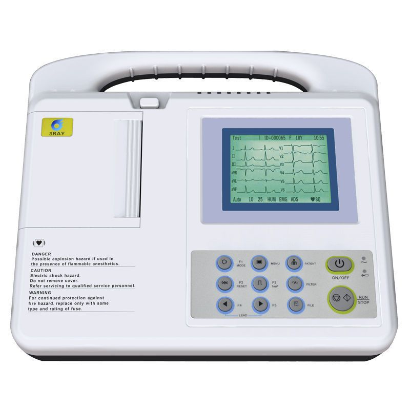 Digital electrocardiograph / 3-channels ECG-2203B Guangzhou 3Ray Electronics Co., Ltd.