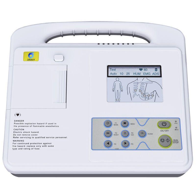 Digital electrocardiograph / 1-channel ECG-2201 Guangzhou 3Ray Electronics Co., Ltd.