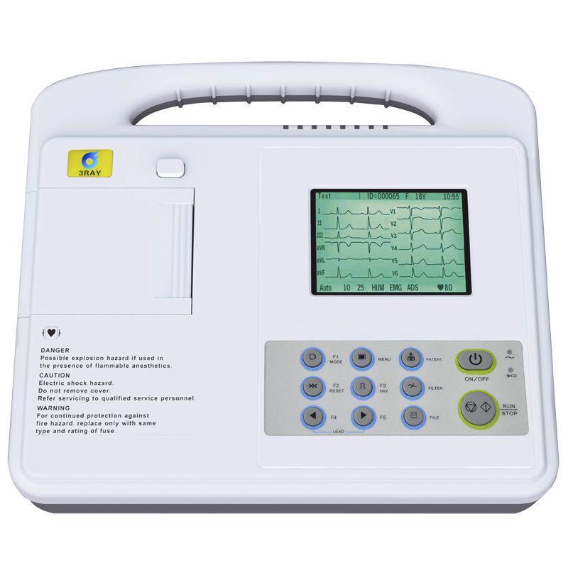 Digital electrocardiograph / 1-channel ECG-2201 G Guangzhou 3Ray Electronics Co., Ltd.