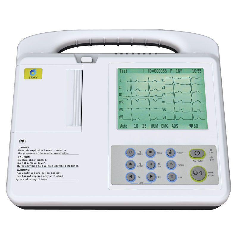 Digital electrocardiograph / 3-channels ECG-2203G Guangzhou 3Ray Electronics Co., Ltd.